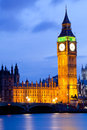 Big Ben London Dusk Royalty Free Stock Photography