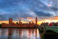 Big ben in london england Stock Photo