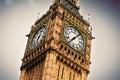 Big Ben, London, England, the UK. Royalty Free Stock Photo