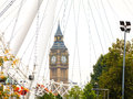 Big Ben Through The London Eye...