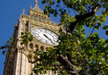 Big ben london parliament westminster Stock Photography