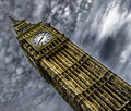 Big ben in london uk Royalty Free Stock Images