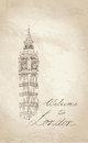 Big ben londres angleterre r u fond d old fashioned de l europe de voyage Photographie stock