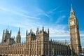 Big Ben, Londres, Reino Unido. Imágenes de archivo libres de regalías