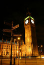 Big Ben at night Royalty Free Stock Photo