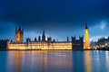 Big ben and palace of westminster london england uk Stock Photography