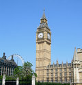 Big ben and the parliament building in london england uk Royalty Free Stock Photography