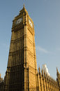 Big ben perspective of london s monument Stock Photography
