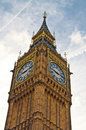 Big Ben in spring Royalty Free Stock Images