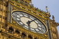 Big ben tower london clock Royalty Free Stock Image