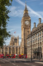 The Big Ben tower in London Royalty Free Stock Photo