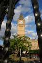 Big Ben in the Westminster, London Stock Image