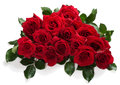 Big bouquet of red roses Royalty Free Stock Photo