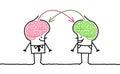 Big brain men & exchange