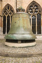Big bronze bell Stock Photography