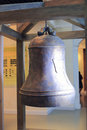Big bronze bell in the chenjiageng museum amoy city china Royalty Free Stock Photos