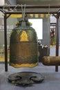 Big bronze bell Royalty Free Stock Photo