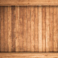 Big brown wood plank wall texture background closed up of Stock Photography