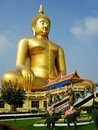Big buddha ang thong province thailand building a statue in to receive donations from many people this is not a Stock Photos