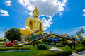 Big Buddha gold Royalty Free Stock Photo