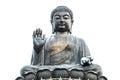 Big buddha the in hongkong Royalty Free Stock Images