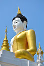 The Big Buddha Image and blue sky Stock Photography