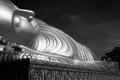 Big buddha sleep in south of thailand Royalty Free Stock Images