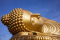 Big buddha sleep in south of thailand Stock Image