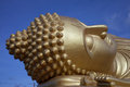 Big buddha sleep in south of thailand Royalty Free Stock Image