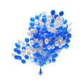 Big bunch of party balloons. Stock Photography