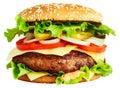Image : Big burger cold