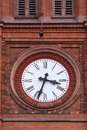 Big Church clock Royalty Free Stock Photo
