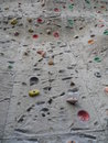 Big climbing wall a very Royalty Free Stock Image