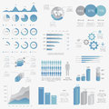 Big collection of modern business infographic vect vector elements Stock Photo