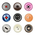 Big colorful buttons Royalty Free Stock Images