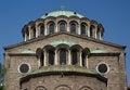 Big curch sveta nedelya church in sofia bulgaria Stock Image