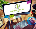 Big Data Creative Thinking Ideas Concept Royalty Free Stock Photo