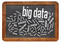Big data word cloud information technology concept collection of sets so large and complex that it becomes challenging to Stock Images