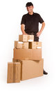 Big delivery Royalty Free Stock Photography