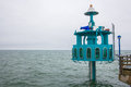 Big diving bell at zingst at the baltic sea Royalty Free Stock Photography