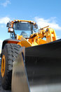 Big dozer Royalty Free Stock Photo