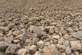 Big earthy stones view of the Royalty Free Stock Images