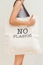 Big eco bag Stock Photography