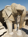 Big elephant statue rajasthan india Stock Image