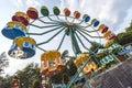The big ferris wheel Royalty Free Stock Photo