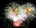 Big fireworks Royalty Free Stock Photos