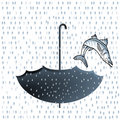 Big fish rainfall Royalty Free Stock Photos
