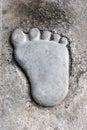 Big foot Royalty Free Stock Photo
