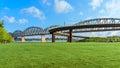 Big Four Bridge Louisville KY Royalty Free Stock Photo