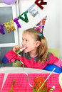 Big funny birthday party Stock Photography